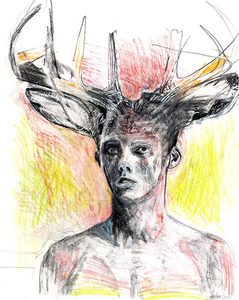 Patrick Treacy Actaeon bearb