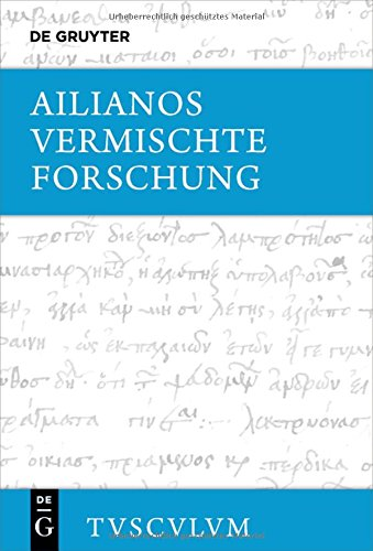 Cover Ailianos Forschung