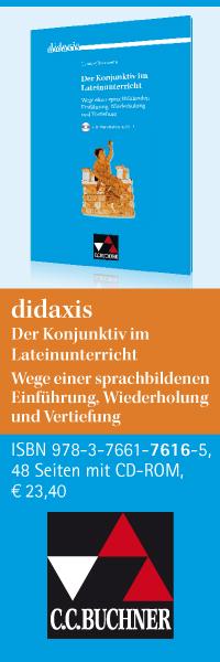 didaxis: Der Konjunktiv im Lateinunterricht